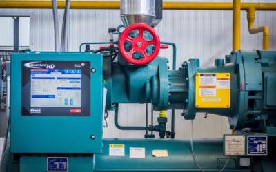 La eficiencia en un sistema de refrigeración industrial