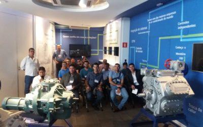 Curso de Refrigeración Industrial Johnson Controls Brasil – Sorocaba, São Paulo