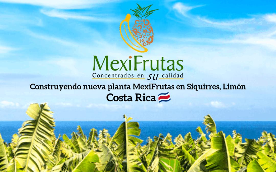 Proyecto Mexifrutas S.A. Siquirres Limón